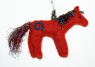 Felt Pony by Ann Ranlett