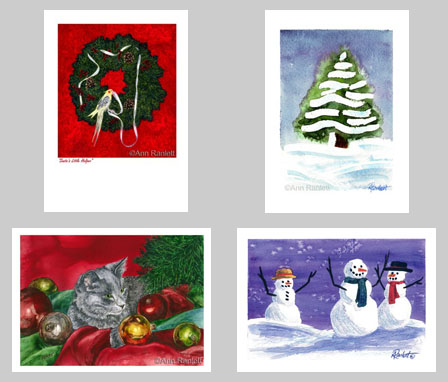 Christmas cards by Ann Ranlett