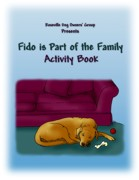 Cover of RDOG Activity Book - Fido is Part of the Family